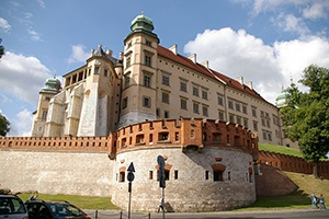 Wawel Royal Castle i Krakow